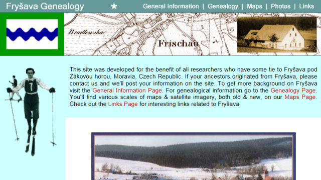Genealogical Website Design & Publishing
